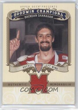2012 Upper Deck Goodwin Champions Authentic Memorabilia #M-BS - Brendan Shanahan