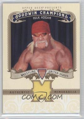 2012 Upper Deck Goodwin Champions Authentic Memorabilia #M-HH - Hulk Hogan
