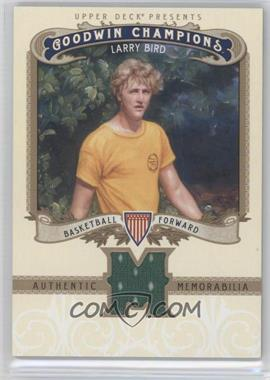 2012 Upper Deck Goodwin Champions Authentic Memorabilia #M-LB - Larry Bird