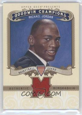 2012 Upper Deck Goodwin Champions Authentic Memorabilia #M-MJ - Michael Jordan