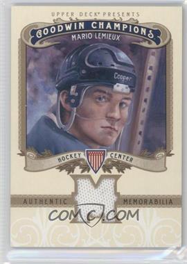 2012 Upper Deck Goodwin Champions Authentic Memorabilia #M-ML - Mario Lemieux