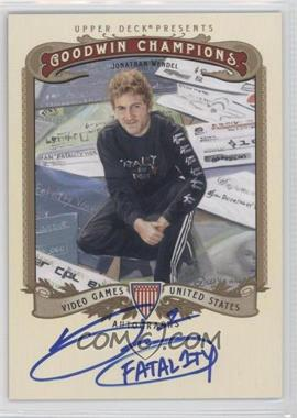 2012 Upper Deck Goodwin Champions Autographs #A-WE - Jonathan Wendel
