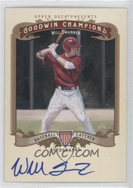2012 Upper Deck Goodwin Champions Autographs #A-WS - Will Swanner