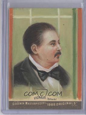 2012 Upper Deck Goodwin Champions Goodwin Masterpieces 1888 Originals [Autographed] #GMPS-17 - Maurice Vignaux /10