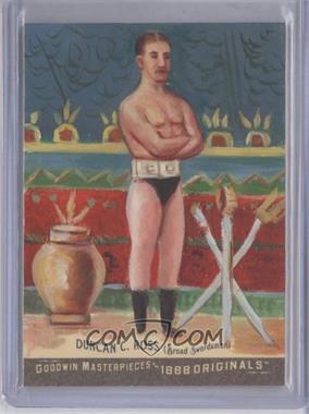 2012 Upper Deck Goodwin Champions Goodwin Masterpieces 1888 Originals [Autographed] #GMPS-18 - Duncan C. Ross /10