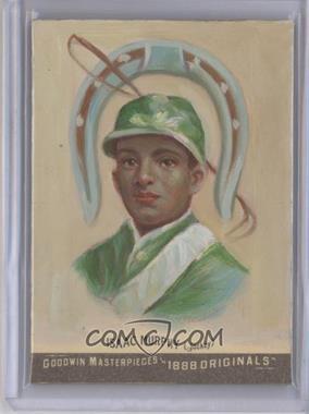 2012 Upper Deck Goodwin Champions Goodwin Masterpieces 1888 Originals [Autographed] #GMPS-26 - Isaac Murphy /10