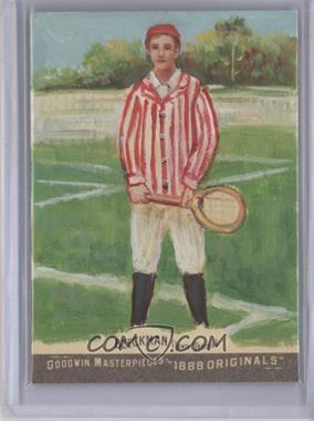 2012 Upper Deck Goodwin Champions Goodwin Masterpieces 1888 Originals [Autographed] #GMPS-28 - Robert Beeckman /10