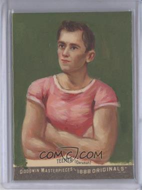2012 Upper Deck Goodwin Champions Goodwin Masterpieces 1888 Originals [Autographed] #GMPS-35 - John Teemer /10