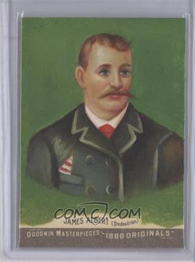 2012 Upper Deck Goodwin Champions Goodwin Masterpieces 1888 Originals [Autographed] #GMPS-36 - James Albert /10