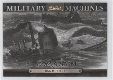 2012 Upper Deck Goodwin Champions Military Machines #MM 1 - USS Monitor