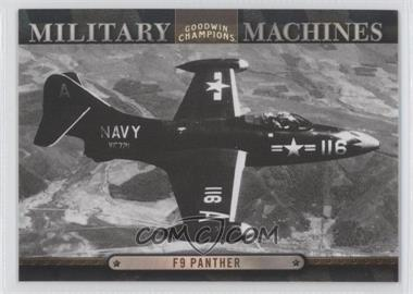 2012 Upper Deck Goodwin Champions Military Machines #MM 21 - F9 Panther