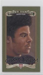 2012 Upper Deck Goodwin Champions Minis Green Lady Luck Back #149 - Warren Moon