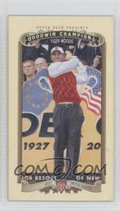 2012 Upper Deck Goodwin Champions Minis #100 - Tiger Woods