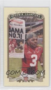 2012 Upper Deck Goodwin Champions Minis #96 - Trent Richardson