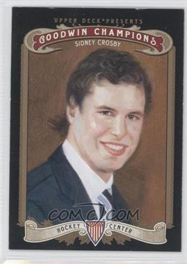 2012 Upper Deck Goodwin Champions #49.1 - Sidney Crosby