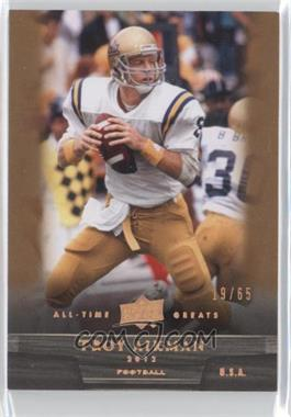 2012 Upper Deck UD All-Time Greats - [Base] - Bronze #100 - Troy Aikman /65
