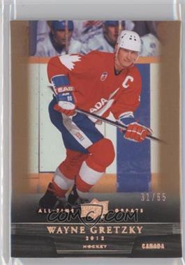 2012 Upper Deck UD All-Time Greats - [Base] - Bronze #72 - Wayne Gretzky /65