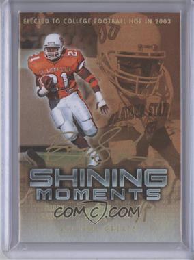 2012 Upper Deck UD All-Time Greats - Shining Moments - Gold Spectrum #SM-BS3 - Barry Sanders