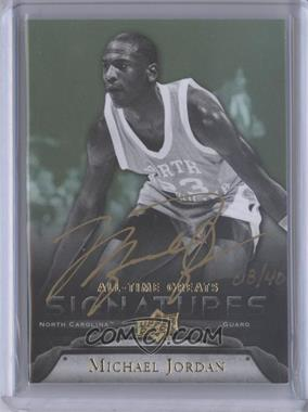 2012 Upper Deck UD All-Time Greats Signatures #GA-MJ5 - Michael Jordan /40