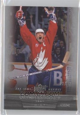 2012 Upper Deck UD All-Time Greats #71 - Wayne Gretzky /99