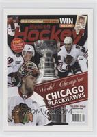 World Champion Chicago Blackhawks (Jonathan Toews, Patrick Kane, Antti Niemi)