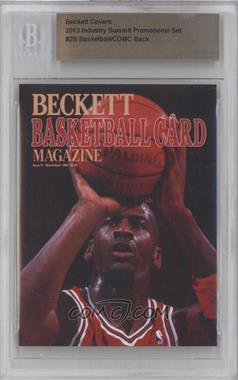 2013 Industry Summit Beckett Covers Industry Summit [54925] #2B - Michael Jordan /25 [BGS AUTHENTIC]