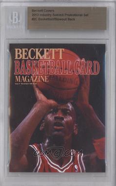 2013 Industry Summit Beckett Covers Industry Summit [54925] #2C - Michael Jordan /50 [BGSAUTHENTIC]