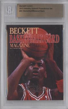 2013 Industry Summit Beckett Covers Industry Summit [Base] #2C - Michael Jordan (Blowout Cards Back) /50 [BGS AUTHENTIC]