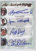 Angel Cordero, Jean Cruget, Pat Day, Chris McCarron, Jose Santos, Jacinto Vasqu…