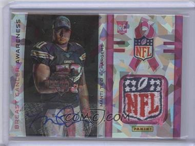 2013 Panini Black Friday - Breast Cancer Awareness Relics - Cracked Ice NFL Shield Autographs [Autographed] #BCA8 - Manti Te'o /1