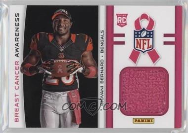 2013 Panini Black Friday - Breast Cancer Awareness Relics #BCA6 - Giovani Bernard