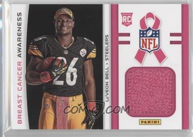 2013 Panini Black Friday - Breast Cancer Awareness Relics #BCA7 - Le'Veon Bell