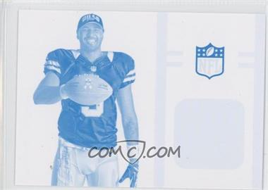 2013 Panini Black Friday Breast Cancer Awareness Relics Progressions Cyan #BCA4 - EJ Manuel