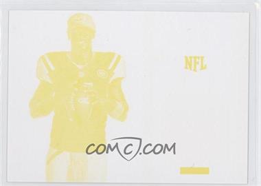 2013 Panini Black Friday Breast Cancer Awareness Relics Progressions Yellow #BCA5 - Geno Smith