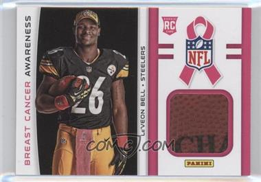 2013 Panini Black Friday Breast Cancer Awareness Relics #BCA7 - Le'Veon Bell