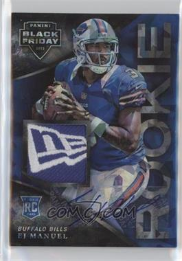 2013 Panini Black Friday Cracked Ice Rookie Patches Autographs [Autographed] #51 - EJ Manuel