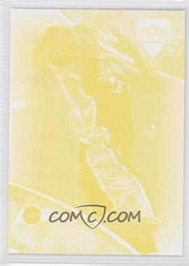2013 Panini Black Friday Progressions Yellow #2 - Kobe Bryant
