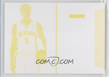 2013 Panini Black Friday Rookie Materials Progressions Yellow #BK7 - Kentavious Caldwell-Pope
