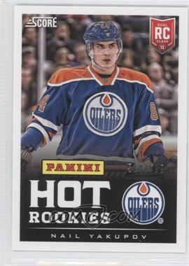 2013 Panini Fan Expo - Score Hot Rookies #1 - Nail Yakupov /599