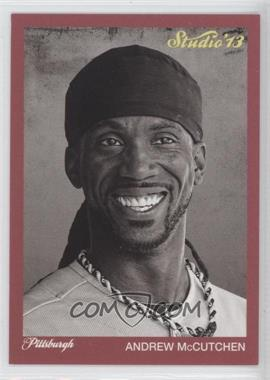 2013 Panini Father's Day - Studio #3 - Andrew McCutchen