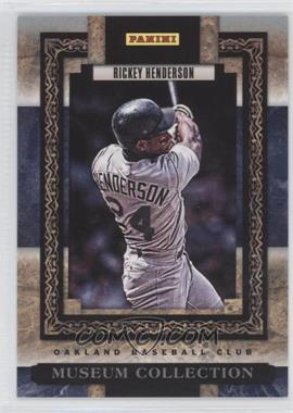 2013 Panini Father's Day Museum Collection #MC-8 - Rickey Henderson