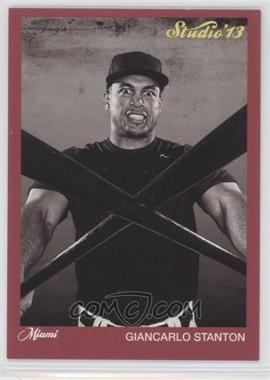 2013 Panini Father's Day Studio #5 - Giancarlo Stanton