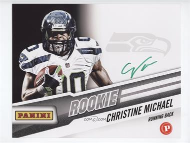 2013 Panini National Convention Wrapper Redemption Prizes Autograph Photos Green Ink #CHMI - Christine Michael