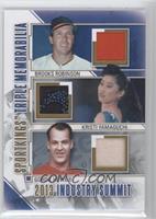 Brooks Robinson, Kristi Yamaguchi, Gordie Howe /30