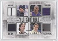 Frank Thomas, Shaquille O'Neal, Sasha Cohen, Walter Ray Williams Jr.