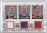 David Robinson, Shaquille O'Neal, Scottie Pippen /19