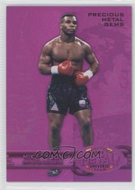 2013 Upper Deck Employee Exclusive Fleer Metal Precious Metal Gems #E-MT - Mike Tyson /125