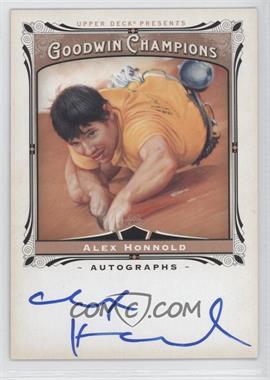 2013 Upper Deck Goodwin Champions - Autographs #A-HO - Alex Honnold