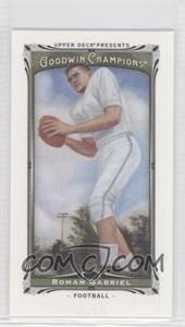 2013 Upper Deck Goodwin Champions - [Base] - Canvas Minis #67 - Roman Gabriel
