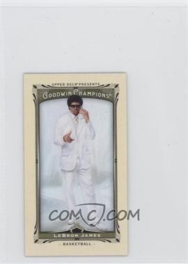 2013 Upper Deck Goodwin Champions - [Base] - Mini #17 - Lebron James